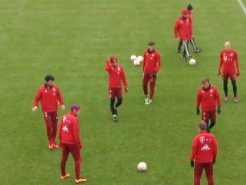 Entrenamiento del Bayern de Munich