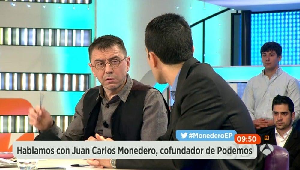 Antena 3 tv monedero discute con todos los colaboradores for Colaboradores espejo publico hoy