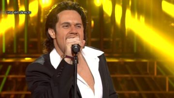 Daniel Diges imita a Marc Anthony