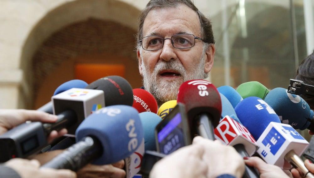 Mariano Rajoy en los homenajes del 11-M