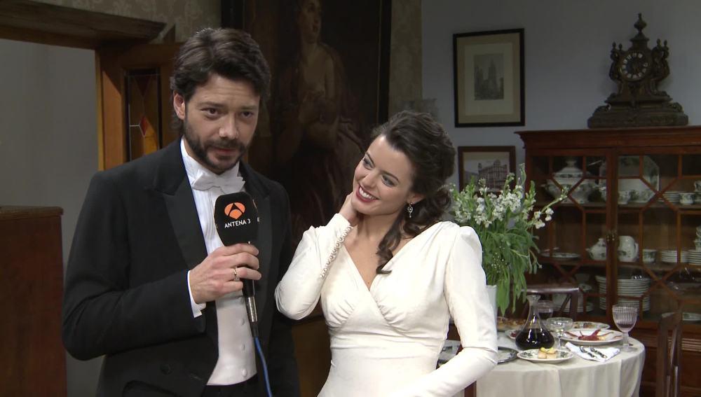 """Adriana Torrebejano y Álvaro Morte: """"Sol y Lucas siempre van a estar juntos frente a las adversidades"""""""