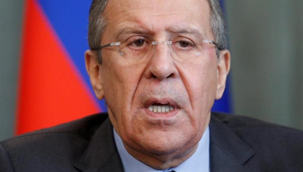 El ministro de exteriores ruso, Serguéi Lavrov