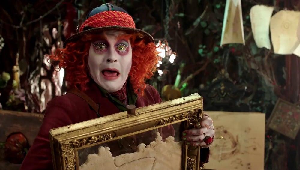 Johnny Depp en 'Alicia a través del espejo'