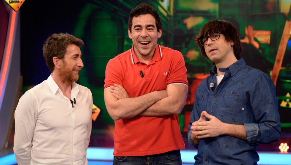 Pablo Motos, Pablo Chiapella y Luis Piedrahita