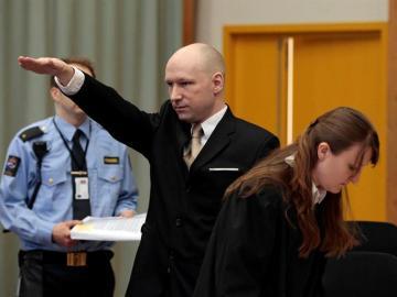 El autor de la masacre de 2011 en Oslo y la isla de Utøya, Behring Breivik