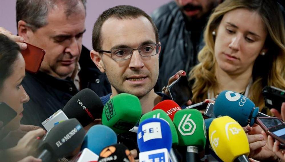 Luis Alegre, el secretario general de Podemos Madrid