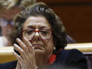 La exalcaldesa de Valencia y senadora territorial, Rita Barberá