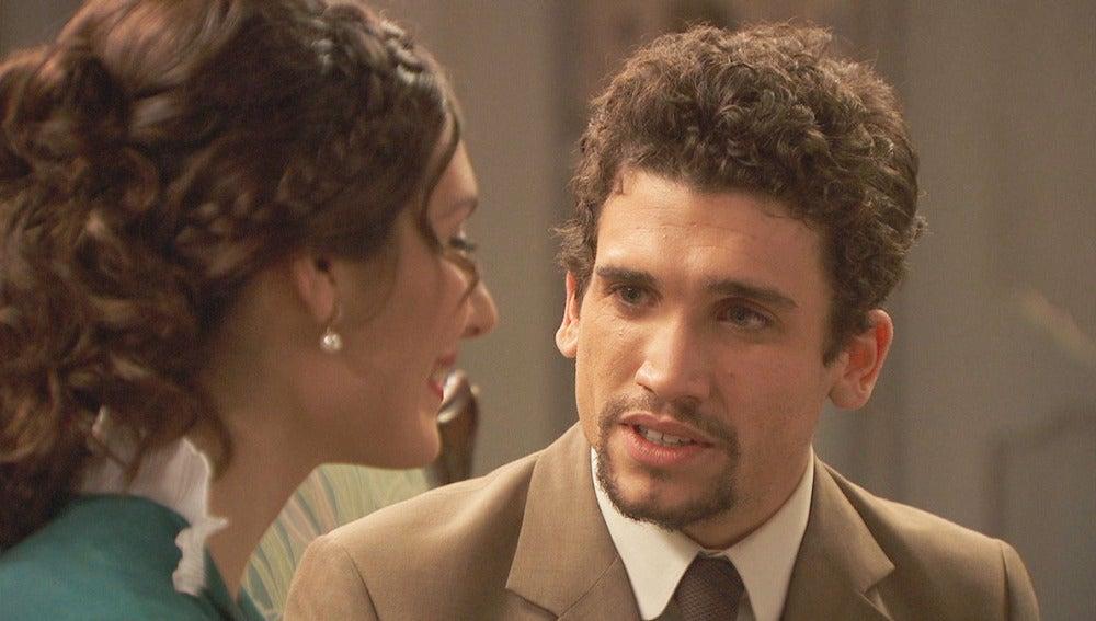 foto Puente Viejo C1284 - Camila y Elías intiman y hablan sobre amor