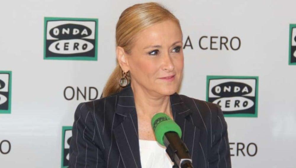 Cristina Cifuentes, en Onda Cero