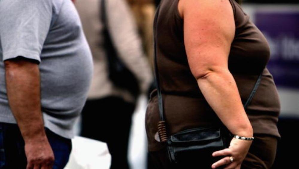 Personas con sobrepeso en Glasgow