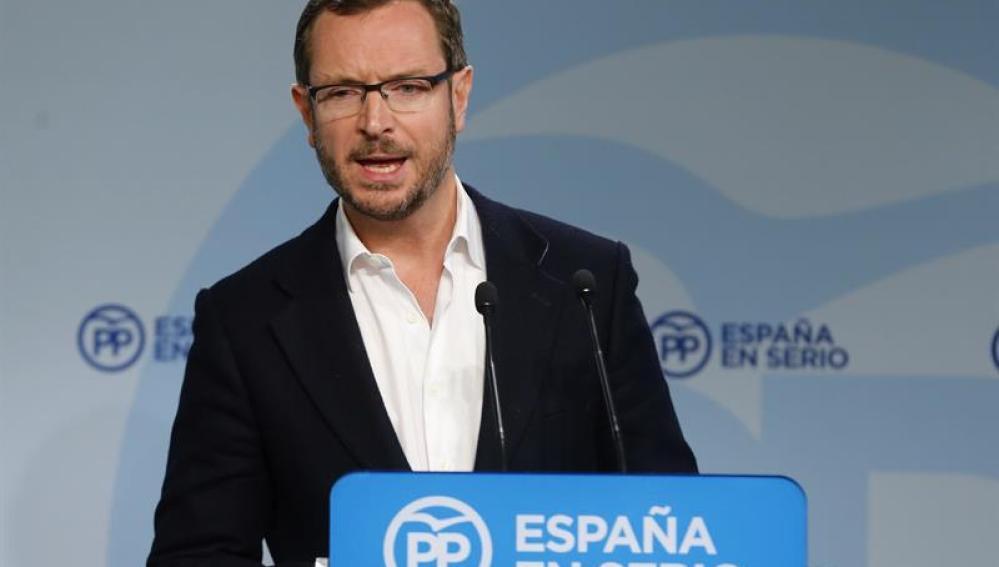 El vicesecretario de Sectorial del PP, Javier Maroto