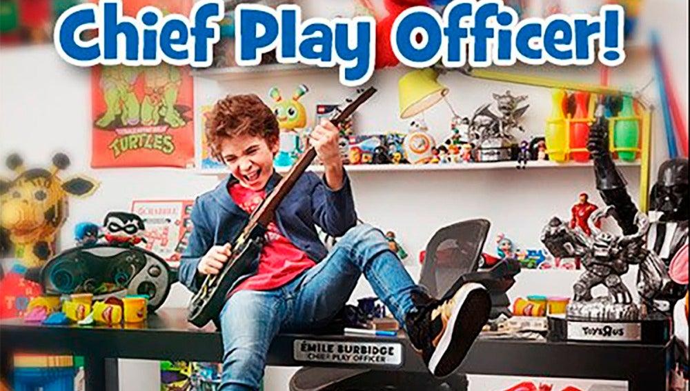 Émile Burbidge, el nuevo miembro de Toys R Us