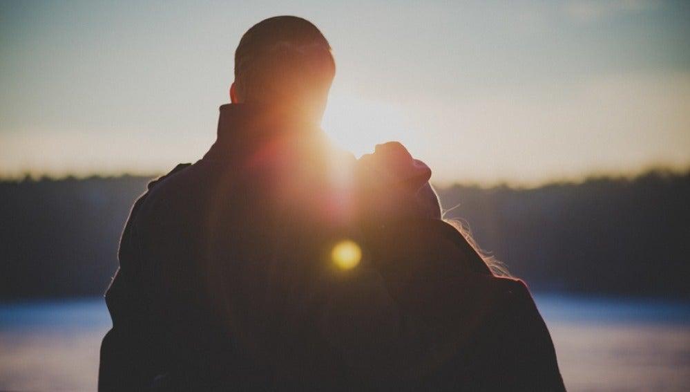 Una pareja joven