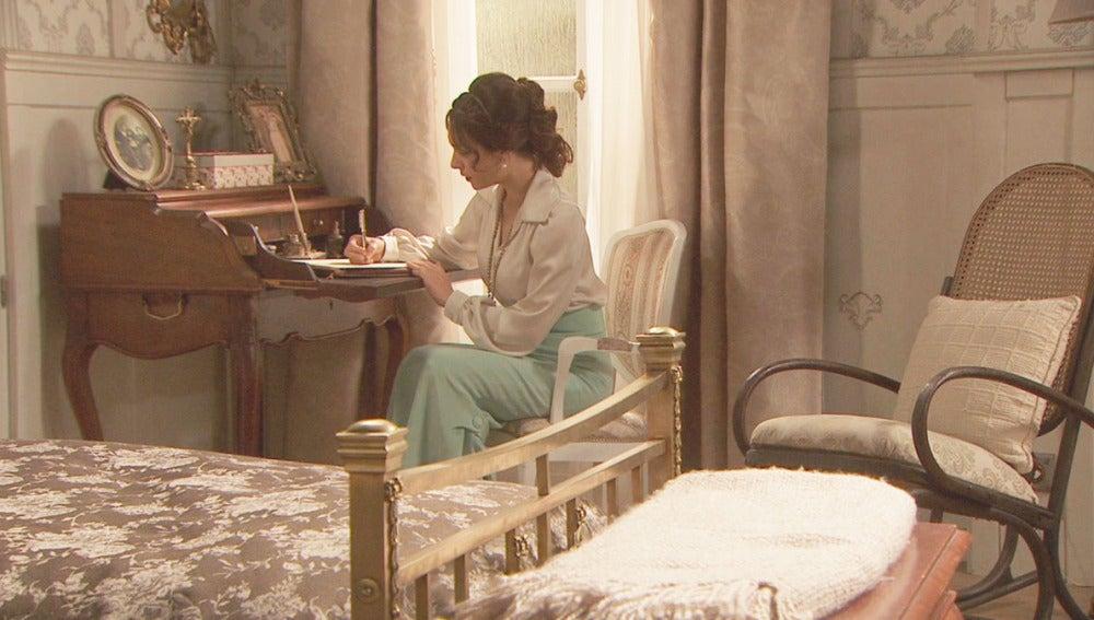 foto Puente Viejo C1285 - Camila escribe una carta... ¿A quién?