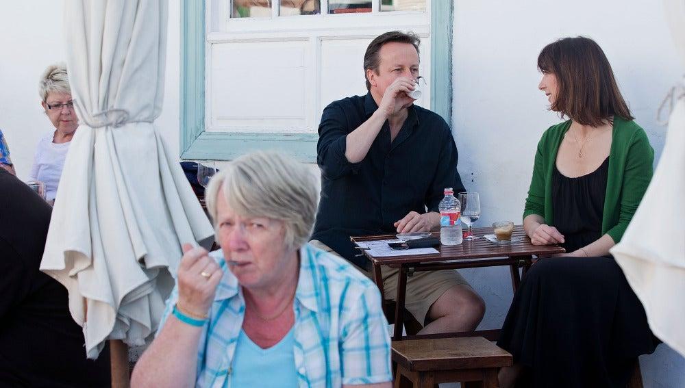 Cameron y su mujer disfrutan de unos días en Canarias