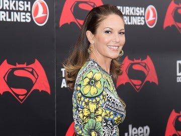 Diane Lane en la premiere de 'Batman v Superman' en Nueva York