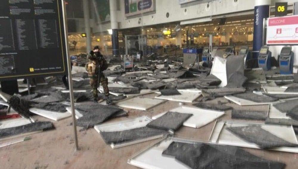 Explosión en el aeropuerto de Bruselas