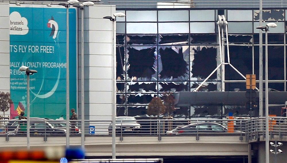 Consecuencias de las explosiones en el aeropuerto de Bruselas