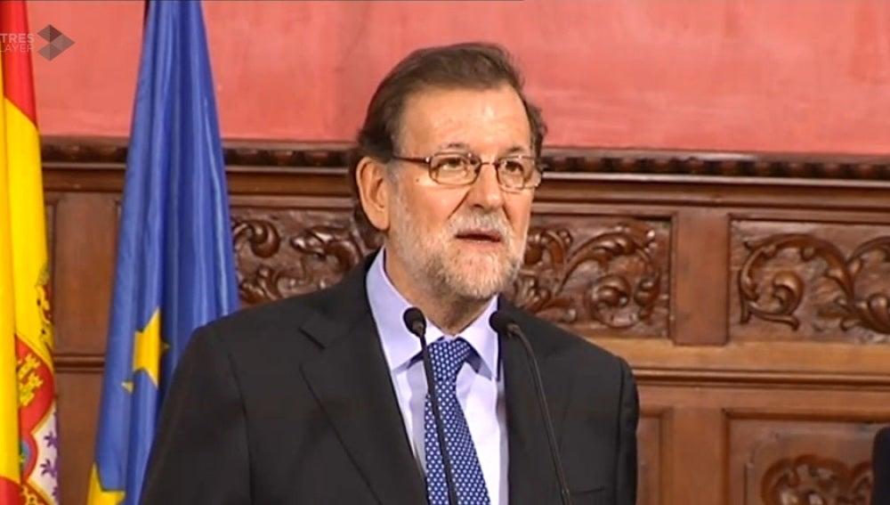 Mariano Rajoy, tras los atentados en Bruselas