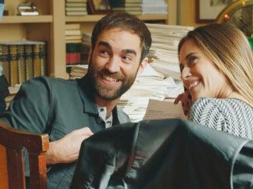 Iñaki y Carmen en el notario...