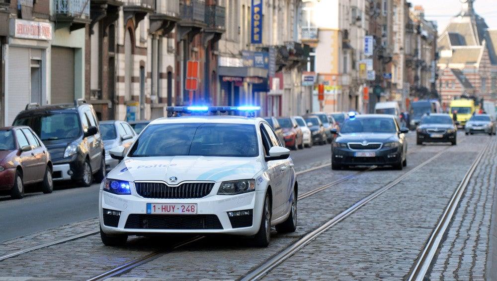 Fuerzas de seguridad en Bruselas