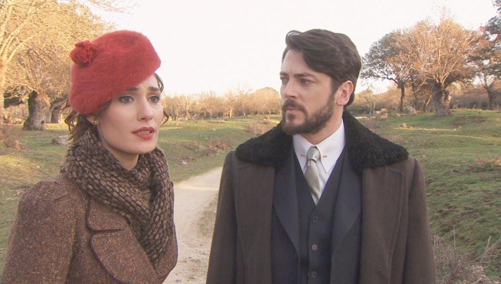 Hernando y Camila preocupados
