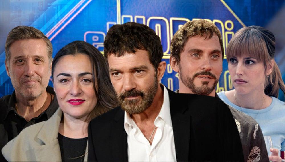 Paco León y Natalia de Molina, Emilio Aragón, Antonio Banderas y Candela Peña en 'El Hormiguero 3.0'