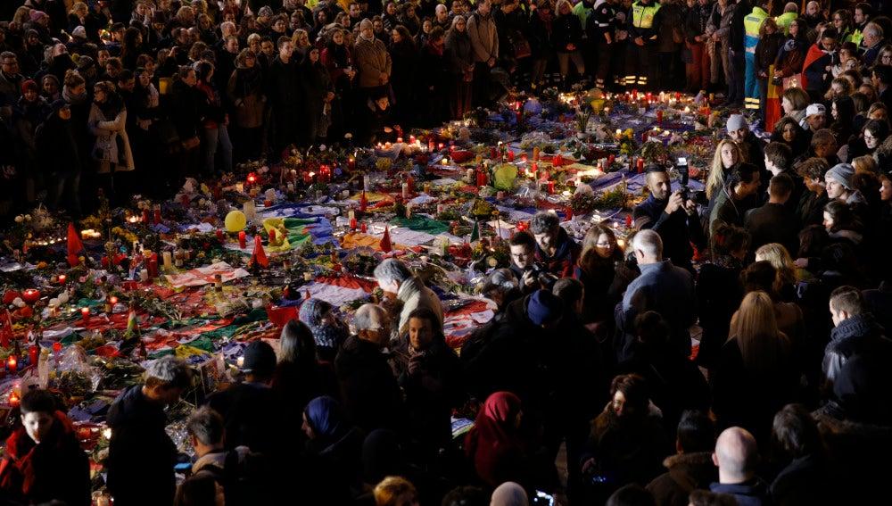 Homenaje en Bruselas