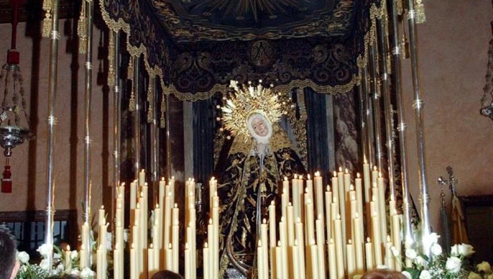 Procesión de La Soledad de Badajoz