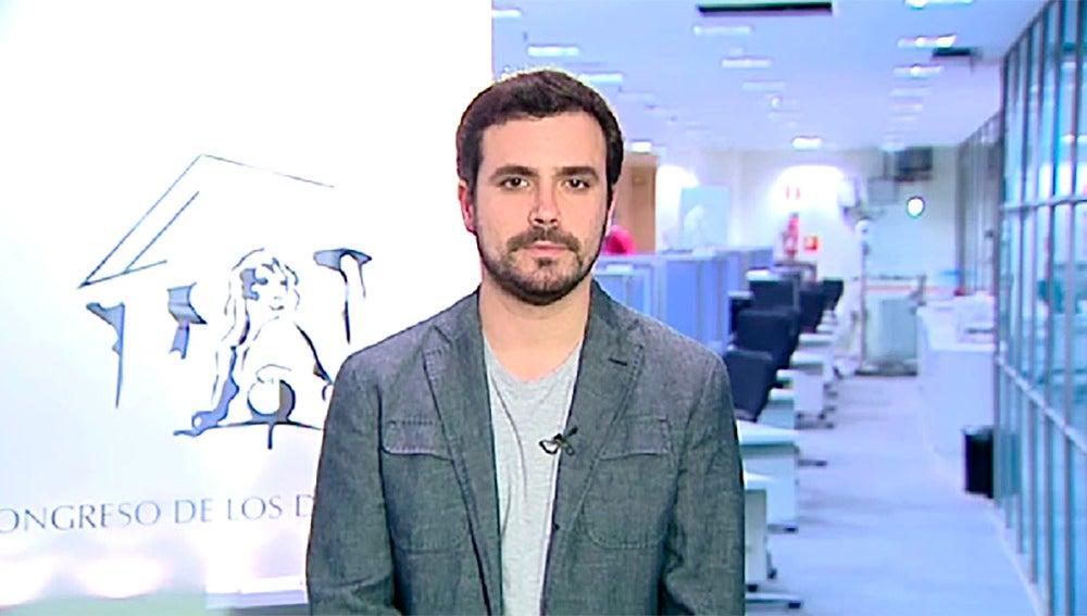 Alberto Garzón en Espejo Público