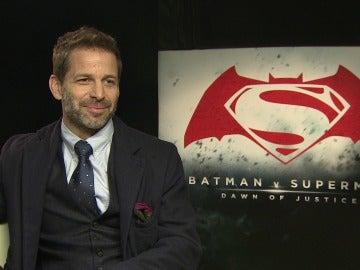 Zack Snyder, director de 'Batman v Superman' y 'La Liga de la Justicia'