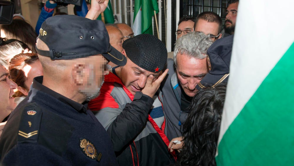 Andrés Bódalo, detenido