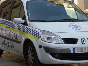Coche de la Policía Local de Málaga
