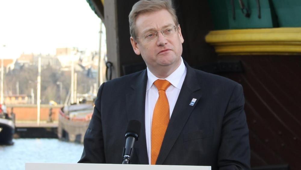 El ministro de Seguridad y Justicia de Holanda, Ard van der Steur