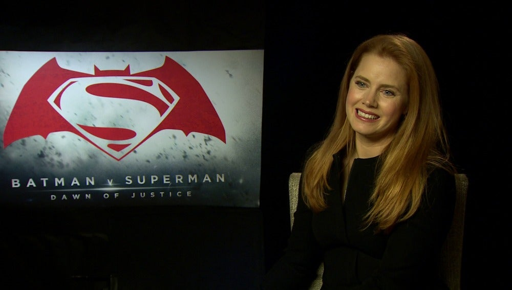 Amy Adams es Lois Lane en 'Batman v Superman'