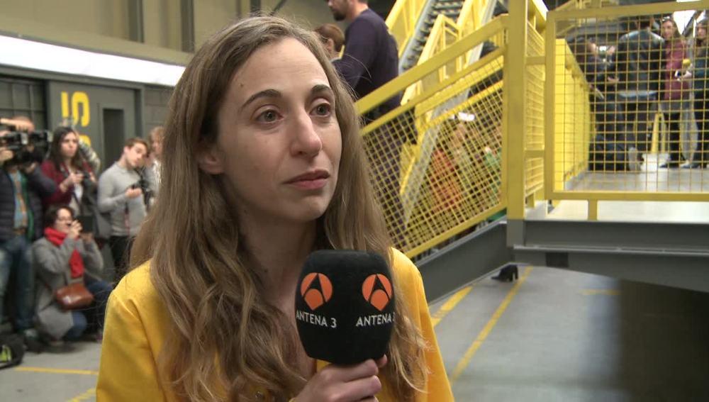 """Marta Aledo: """"La gente siente la necesidad de ver como evoluciona una serie como Vis a Vis"""""""