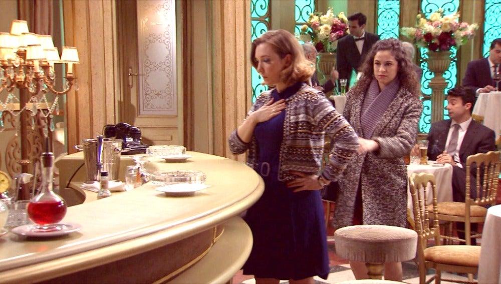 Carmen descubre que Leonor está muy sospechosa