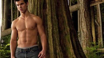 Taylor Lautner en la saga 'Crepúsculo'