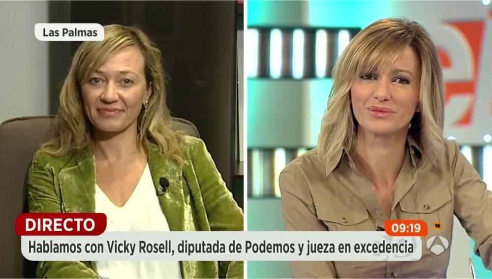 Vicky Rosell en Espejo Público