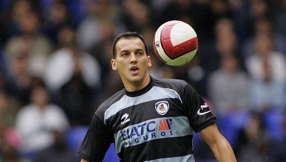 Kovacevic durante un partido con la Real Sociedad