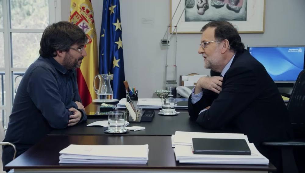 Mariano Rajoy, en Salvados