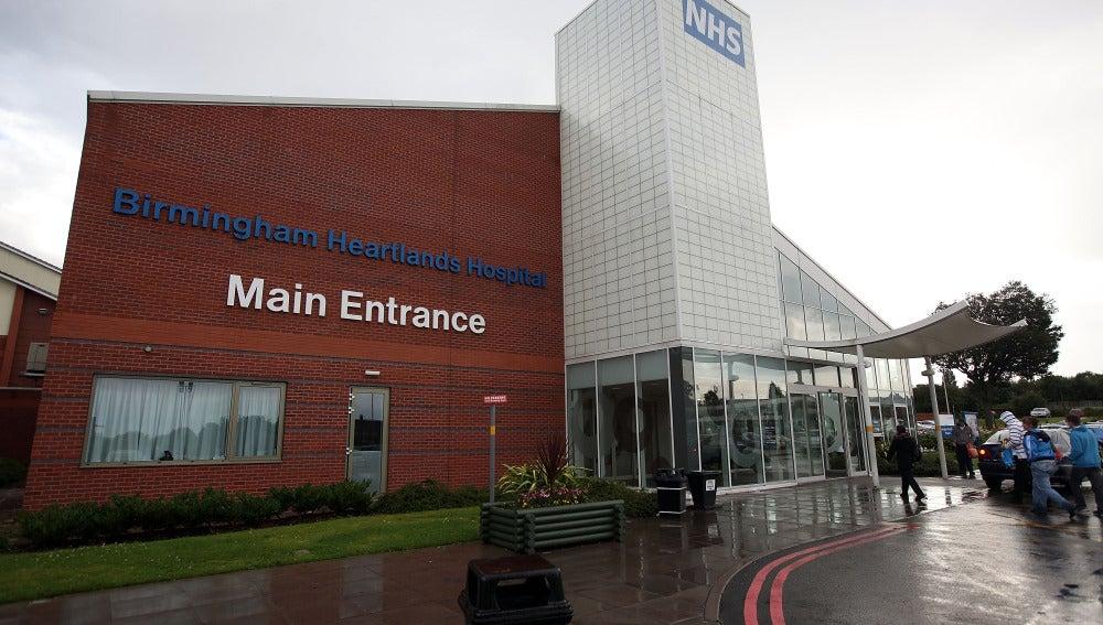 El hospital Heartlands en Birmingham