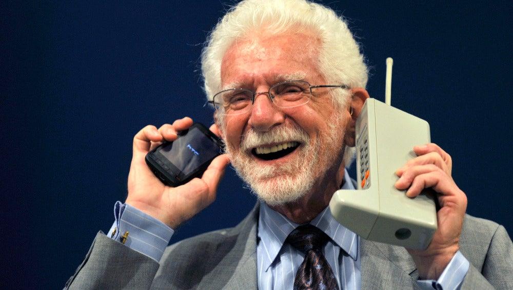 Martin Cooper, padre de la tecnología móvil
