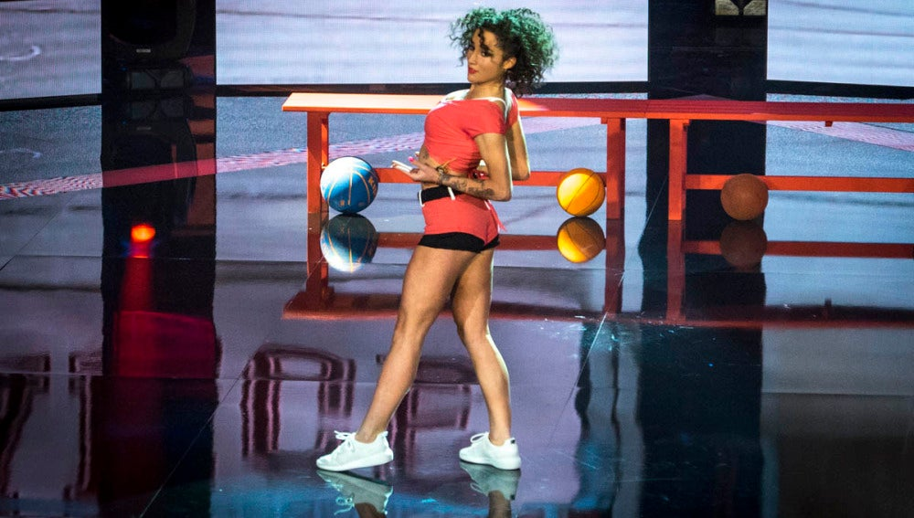 La coreografía de Paloma Vázquez