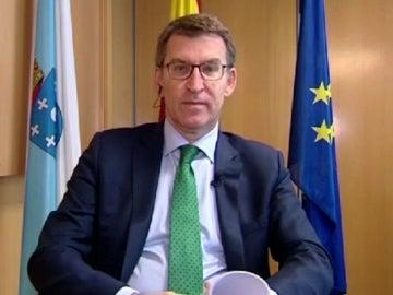 El presidente de la Junta de Galicia, Alberto Núñez Feijóo