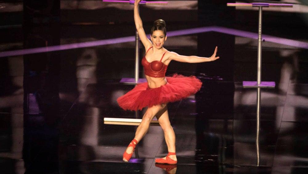 La coreografía de Elena Suárez