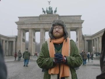 Salva frente a la puerta de Brandenburgo