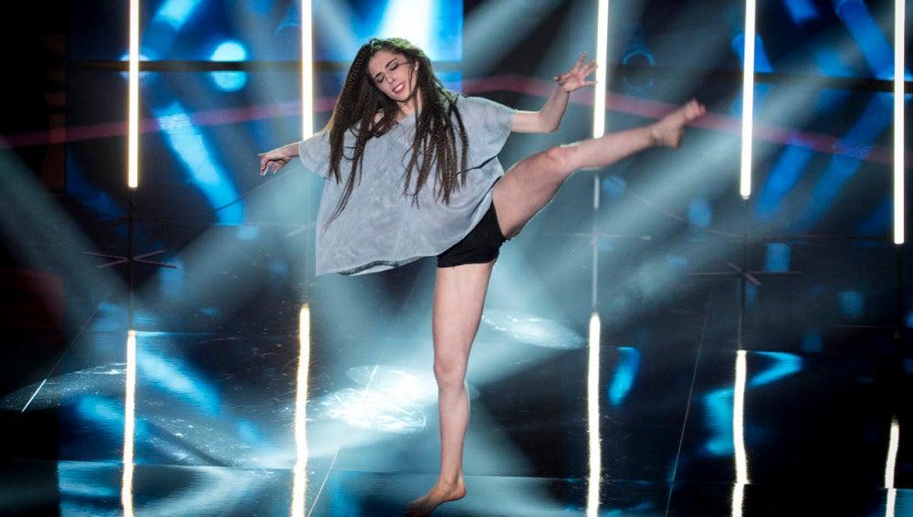 La coreografía de Cristina Sánchez