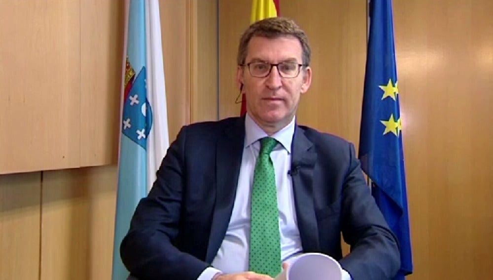 Alberto Núñez Feijóo en Espejo Público