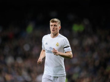 Kroos, en un partido con el Real Madrid